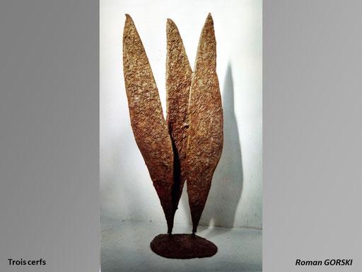 Trois cerfs - Roman Gorski