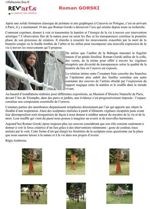 "2005 - "" Rêv'art "" Bezons - Roman Gorski"