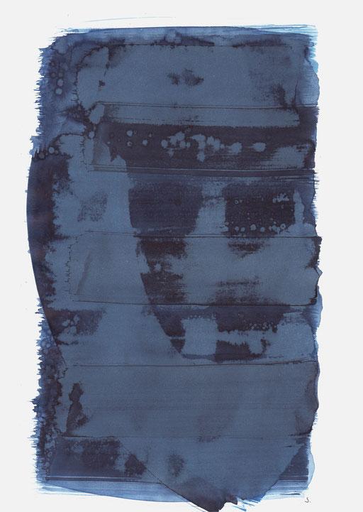 """Eva Doris Weil, Memorial 03"", 2020, 48 x 36cm, ©: Konstanze Sailer"