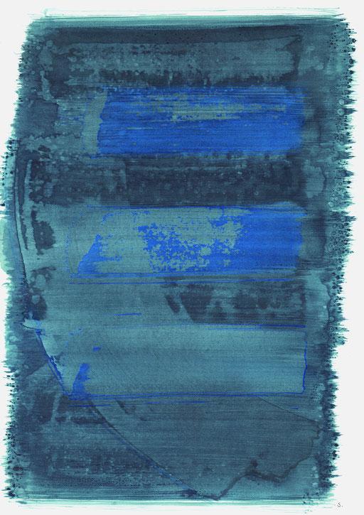 """Gustav Gershon Latzer, Memorial 7"", 2021, 48 x 36cm; ©: Konstanze Sailer"
