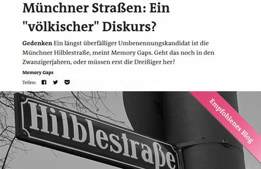 Friedrich Hilble, Der Freitag, 04. Januar 2020