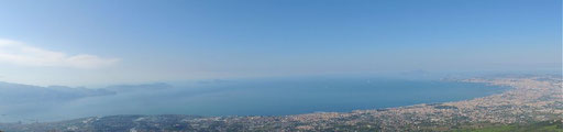 Blick auf den Golf von Neapel