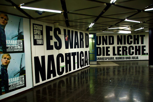 Willy-Brandt-Platz Subway Station, Frankfurt/Main