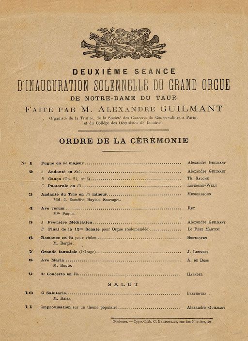 Programme du 18 juin 1880
