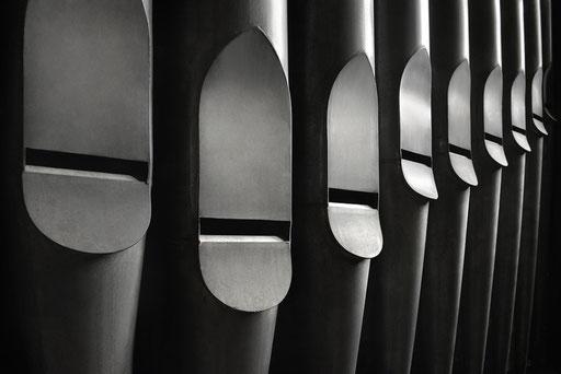 Tuyaux de Montre 16' - ©Patrick Galibert photographe pour Toulouse les Orgues