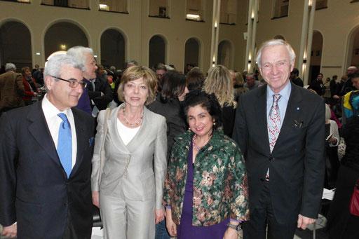 Dottor G. Ceprini, Daniela Schadt, Assunta Verrone, Dr. Erich Barke