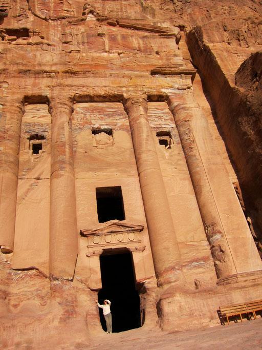 Abendstunden in Petra, Jordanien