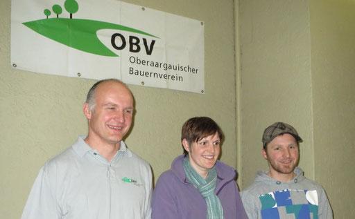 Ueli Fahrni, Helen Wegmüller und Philipp Fiechter