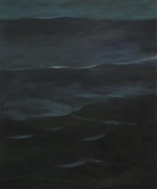 Meer, Öl/Leinwand, 120 x 100 cm, 2017