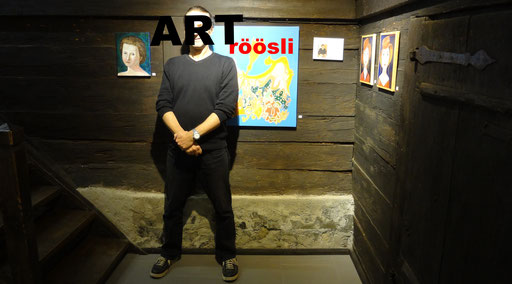 schWEIz st moritz gallery vernissage events daniel roeoesli art ,