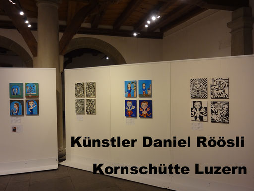 Lucerne Artist , Painter Pictures , art Switzerland , Roeoesli ,
