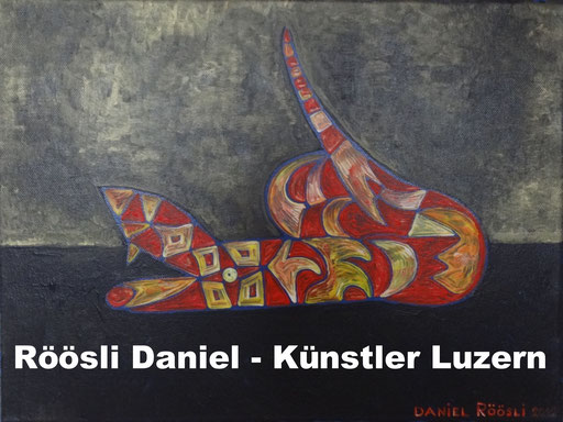 Lucerne art , Painter artist , Switzerland ,
