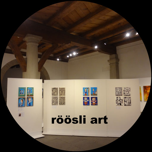 Kornschuette Lucerne, Exhibitions Art, Picture Artist, painter Daniel Roeoesli,