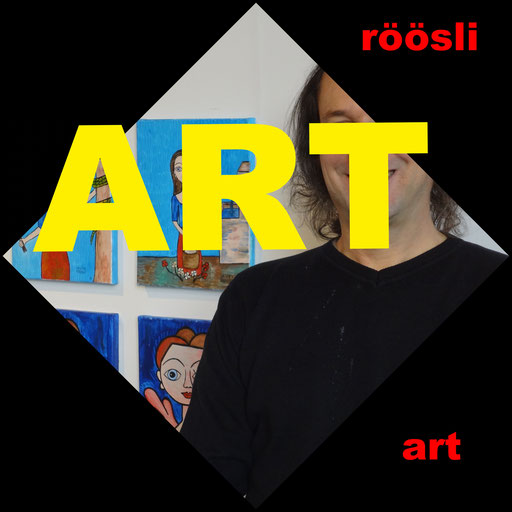 Art Exhibitions Lucerne Picture Painter Artist Daniel Roeoesli,