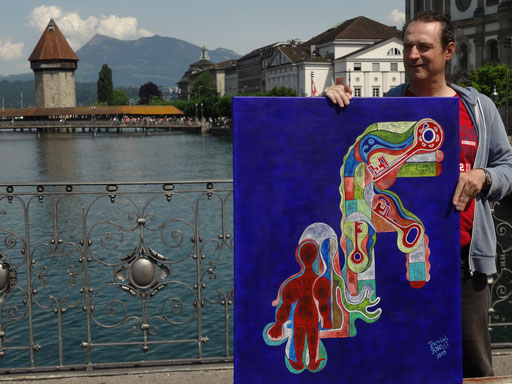 Acrylmalerei , switzerland ARt daniel roeoesli painter , acryl ,