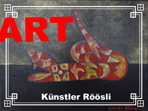 Roeoesli art Artist Painter Lucerne , switzerland ,