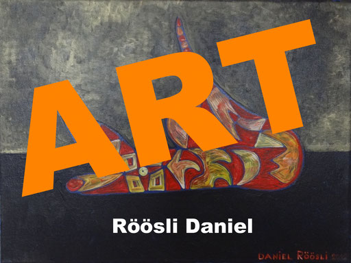 moderN ART , acryLic painting daniel roeoeSli , expreSSIOn , events ,