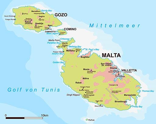 Zeiljachten te huur op Malta voor een zeilvakantie vanuit Valetta