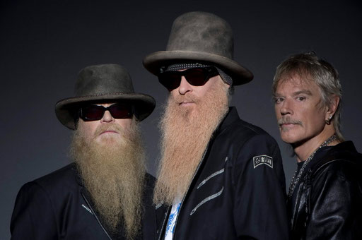 Das Texas-Trio ZZ TOP gastiert am 27. Juni in Krefeld.. Foto: Ross Halfin