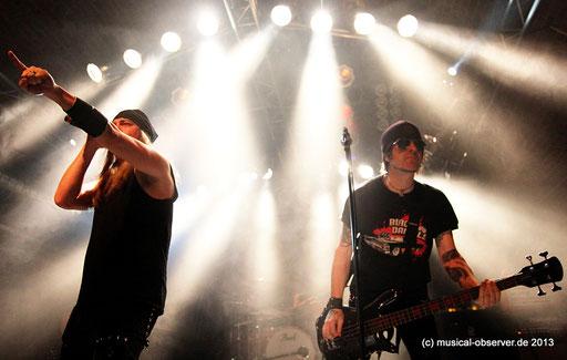 SKID ROW rockten auch ohne SEBASTIAN BACH. Fotos (8): Niels Holger Schmidt