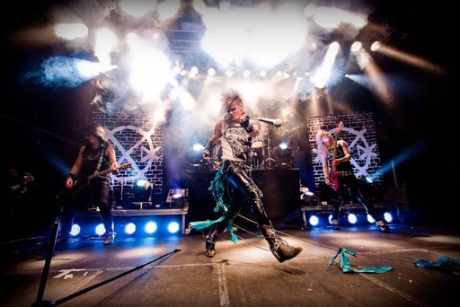 Crashdiet Live Photo Gustaf Sandholm