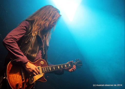 ADRIAN VANDENBERG und seine MOONKINGS live. Fotos: Niels Holger Schmidt