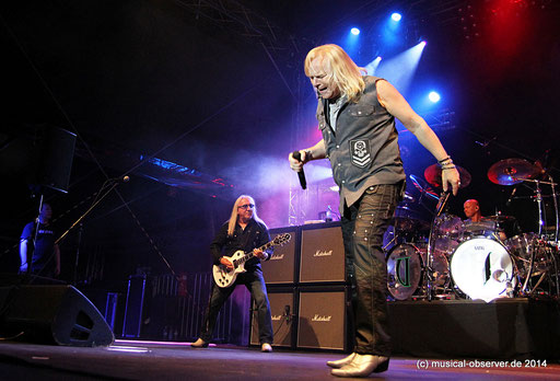 Gitarrist Mick Box ist noch immer voll motiviert. Fotos: Niels Holger Schmidt