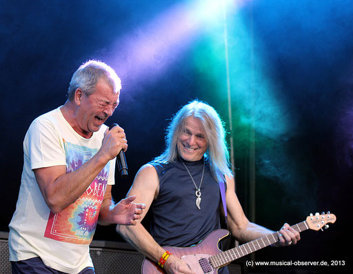 Deep Purple rocken noch immer. Fotos (2): Niels Holger Schmidt