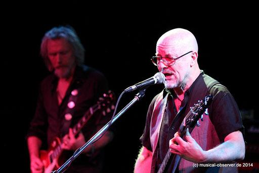 ANDY POWELL gastierte mit WISHBONE ASH am 26.1. in Bochum. Fotos: Niels Holger Schmidt
