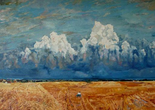 """Endlich wieder ein großes, symbolistisches Bild: """"Das Gewitter"""""""