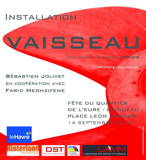 Sébastien Jolivet Art Contemporain Le Havre Fête Quartier Eure