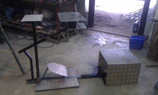 Scatolato e alluminio lavorato