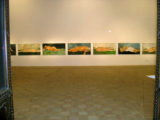 Ausstellungsansicht, Künstlerhaus Wien, Obergeschoß, grosser Mittelsaal