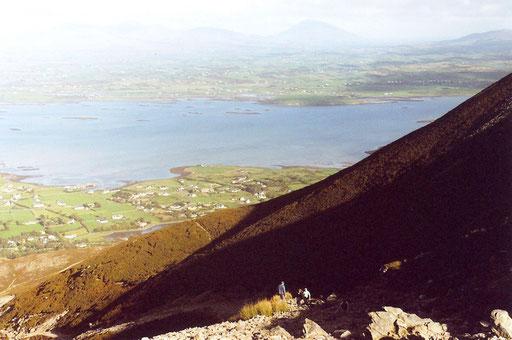 Auf/Abstieg vom Croagh Patrick, Irland 2006