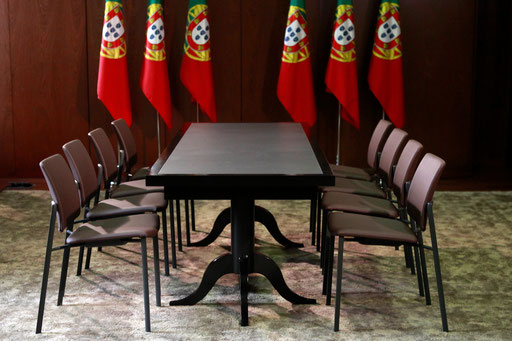 Room of the coalition government agreement before the last meeting in 2011