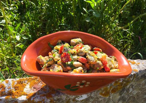 Favas salad