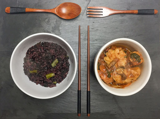 Alentejano met Chinese - Alentejo ingredients with Chinese flavour