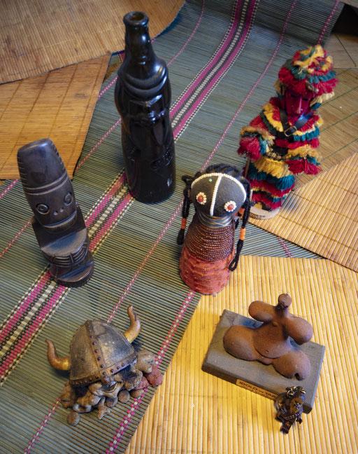 Alguns Totens de uma macumba anti-Kovid