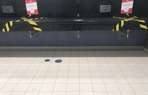 Bathroom ata shopping center