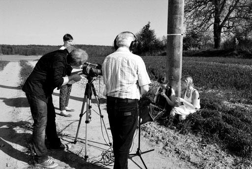 "Dreharbeiten zu ""Written over Pictures"" Ende April 2012 in Blankensee (Uckermark)"