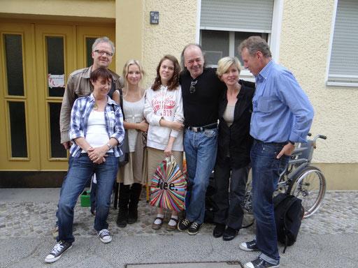 von links: Andreas Wieland,Moni Schlottau,Samai Strothjohann,Verena Bratina,Branco Bratina,Nadja Kütz,Uli Schlottau (Foto: Helmut Fischer)