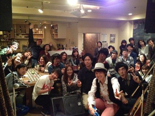 スリーマンライブ『~Restart~』@上前津 Music Bar BOB 2013.3.16.sat.