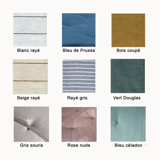 gamme couleur toile extérieur