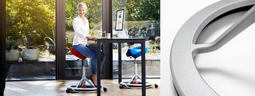 miko office ergonomisch richtig sitzen