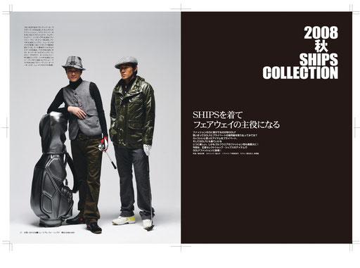 東京ゴルフファッションページ『SHIPSを着てフェアウェイの主役になる』