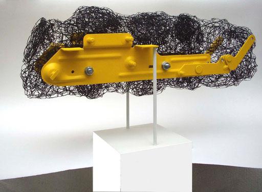 """""""Flugobjekt"""", 2010, Fundstück"""