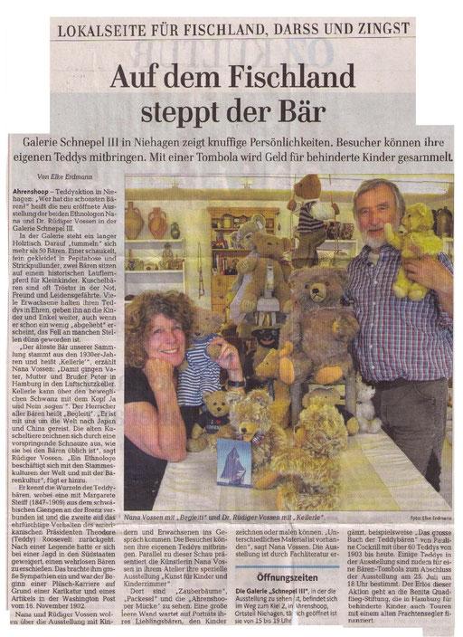 Ostseezeitung vom 11.7.2014