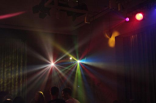 So könnten die Lichteffekte auf Ihrer Hochzeit aussehen.