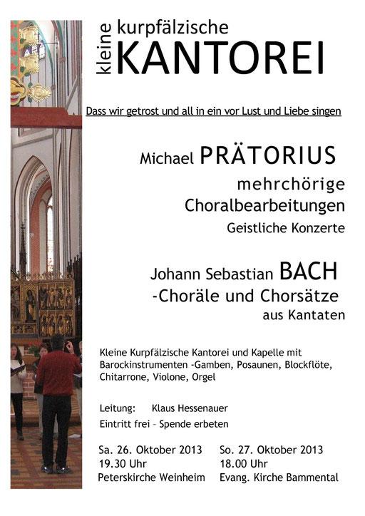Geistliche Konzerte Weinheim und Bammental