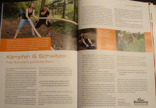 Artikel im Trainermagazin 3/2014